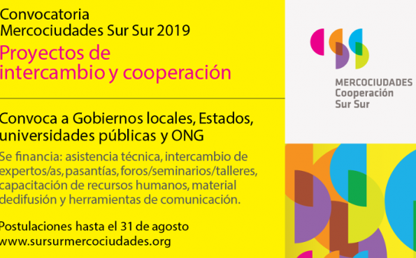 Call for South-to-South cooperation projects 2019